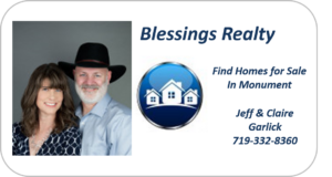 Blessings Realty Find Homes for sale In Monument Colorado